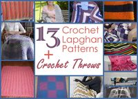 13 Crochet Lapghan Patterns