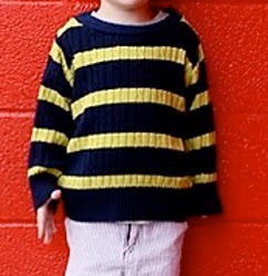 Refashion Sweater for Boys