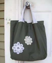 Rescued Threads Tote