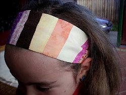 30-minute Patchwork Headband