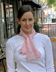 Breast Cancer Awareness Scarf