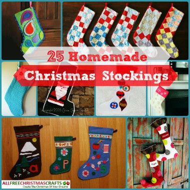 25 Handmade Christmas Stockings