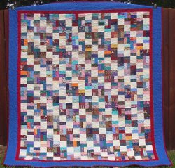 Fun With Bricks Scrap Quilt