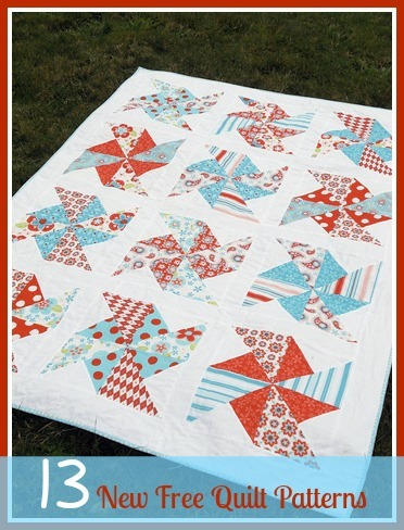 13 New Free Quilt Patterns + 8 Easy Quilt Patterns | AllFreeSewing.com : free quilting - Adamdwight.com