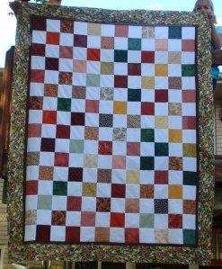 Charming Checkerboard Quilt Favequilts Com