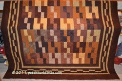 Monochromatic Brown Quilt