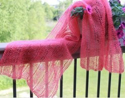 Claire Lace Shawl