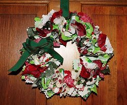 Shabby Chic Ruffle Wreath