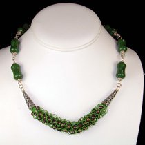 Mossy Forest Floor Necklace