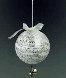 Lovely Christmas Carol Ornament