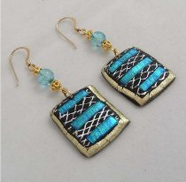 Retro Friendly Plastic Earrings
