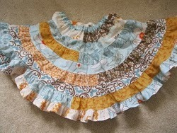 Jelly Roll Twirl Skirt
