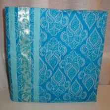 Make Your Own Binder Cover | AllFreeSewing.com