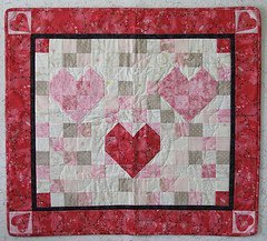 Mosaic Hearts Quilt