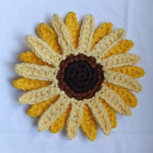 Free Crochet Pattern: Giant Sunflower