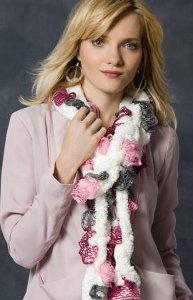 Braided Crochet Scarf