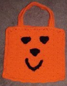 Happy Pumpkin Treat Bag