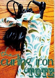 The Curling Iron Tote