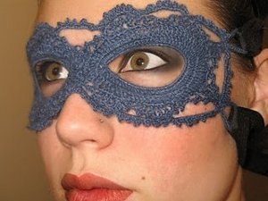 Crochet Lace Mask