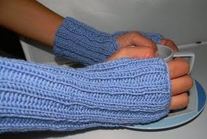 Ice Breaker Ribbed Mitts