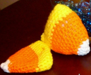 Candy Corn Halloween Decoration