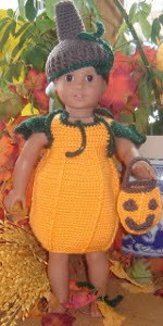 Adorable Doll Pumpkin Costume