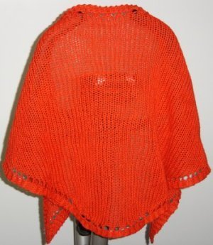 Red Cape Knitting Pattern : Red Riding Hood Poncho AllFreeKnitting.com