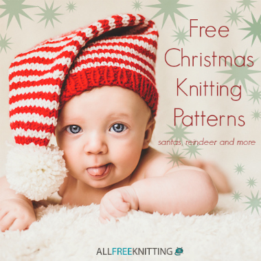16 Free Christmas Knitting Patterns Santas Reindeer and More