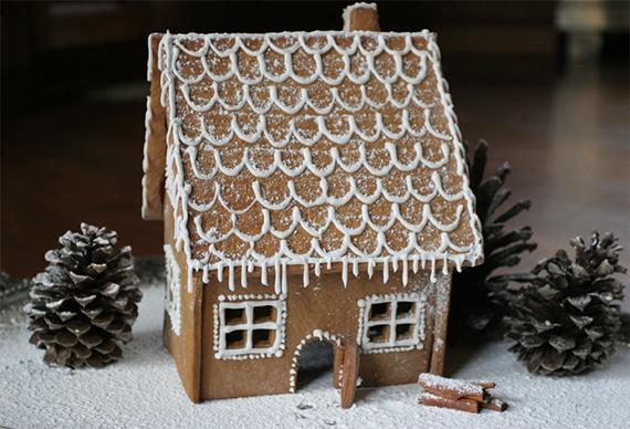 German Gingerbread House Lebkuchenhaus