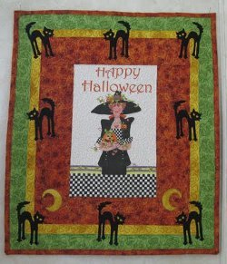 Happy Witch Panel Quilt Favequilts Com