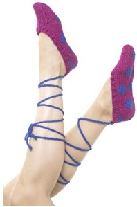 Knit Ballet Slippers