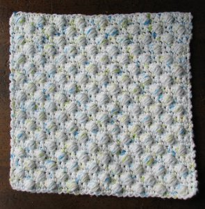 Ball Stitch Dishcloth