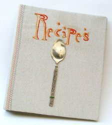 Anthropologie Inspired Recipe Binder