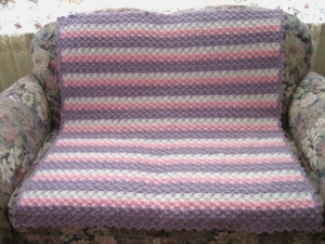 Scalloped Pastel Blanket