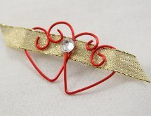 Wired Heart Pin