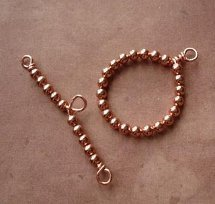 How to Make a Beaded Toggle Clasp
