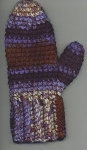 Easy Crochet Mittens