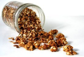 Nutty Pumpkin Pie Granola