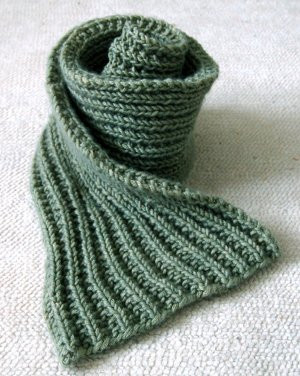 Basic Knitting Scarf Patterns : Knitting For Beginners: 50+ Easy Knitting Patterns AllFreeKnitting.com