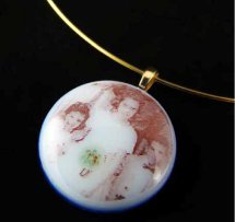 Glass Photo Pendant