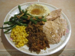 Complete Roasted Turkey Breast Dinner