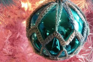 Crochet Christmas Ornament Cover