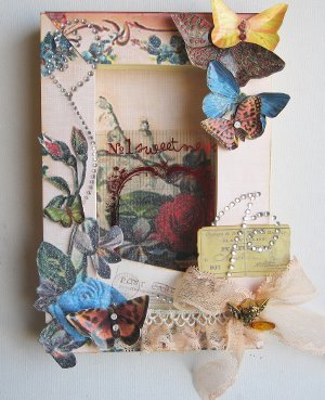 Vintage Butterfly Shadow Box Favecrafts Com