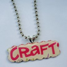 Hobby Lobby Craft Necklace