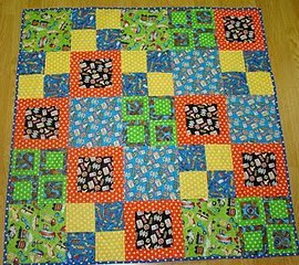 Simply Squares Baby Quilt