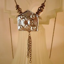 Crooked House Necklace