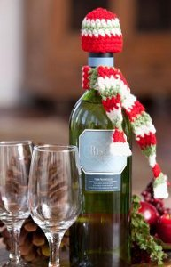Holiday Party Bottle Accessories