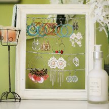 Shabby Chic Earring Holder