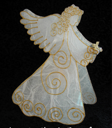 Angel Candle Cover Favecrafts Com