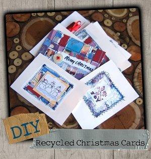 Recycled Christmas Cards Favecrafts Com